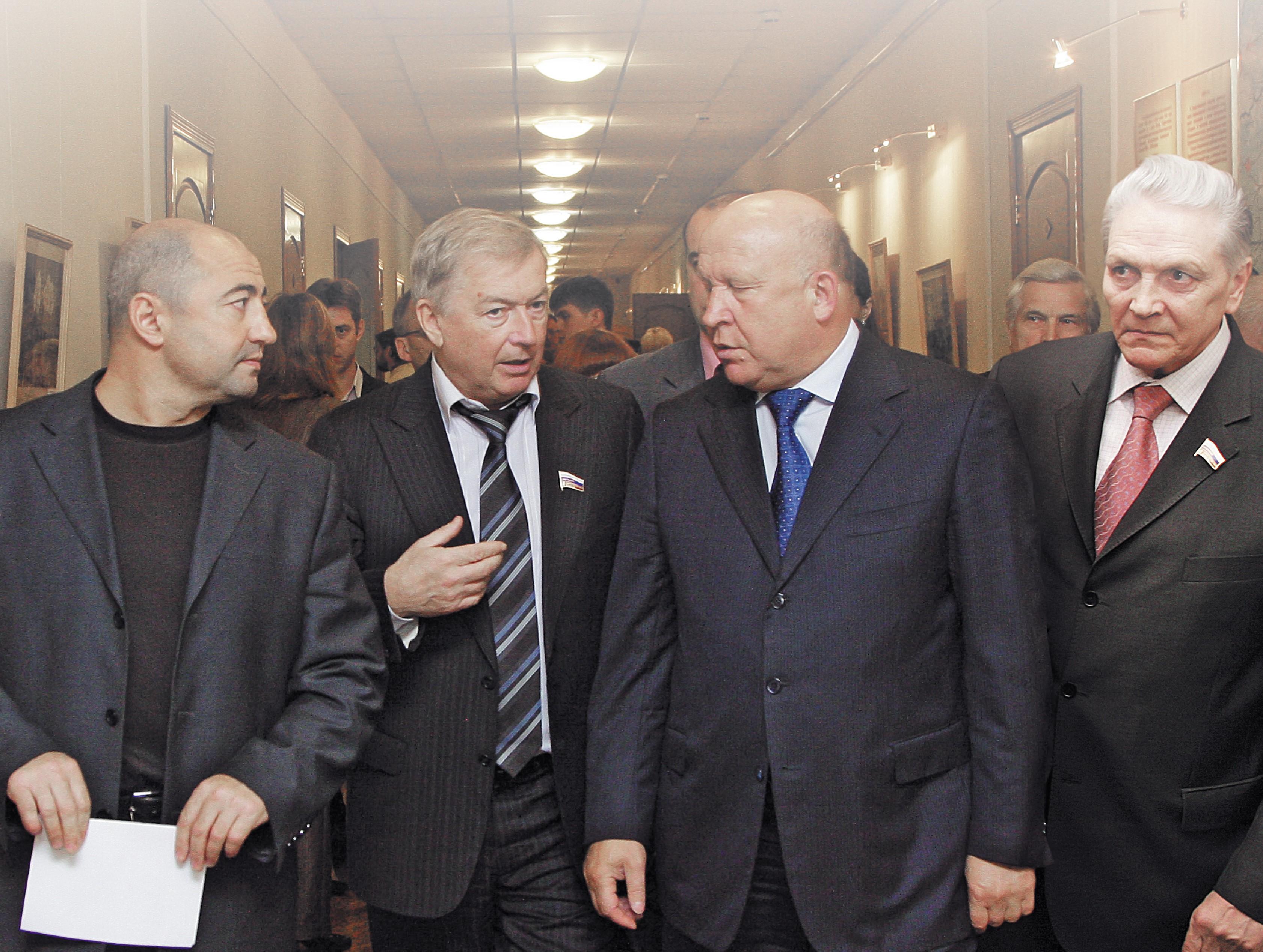 Жигалов с губернатором