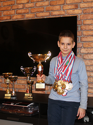 Миша Ковалёв шашист