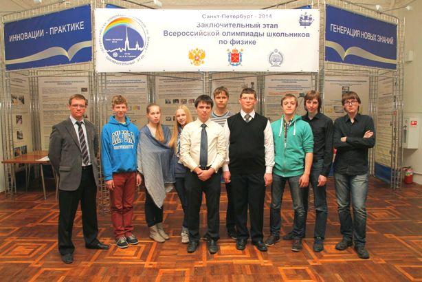 Сборная Нижегородской области по физике