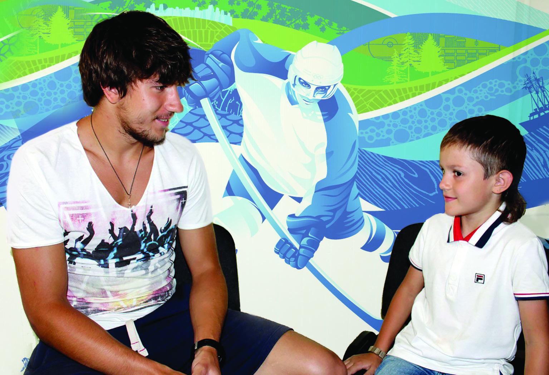 интервью хоккеист в номер