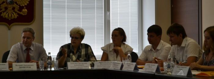 Встреча по созданию Молодежного парламента